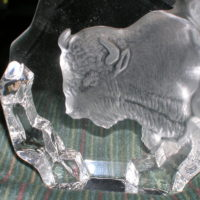 White Buffalo (glasswork)